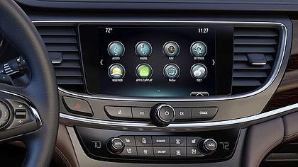 2017 Buick LaCrosse driver instrument panel