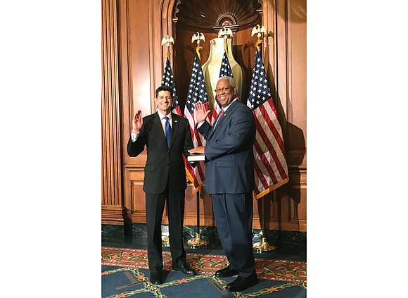 U.S. Rep. A. Donald McEachin of Henrico County was sworn in as a member of the 115th Congress on Tuesday ...