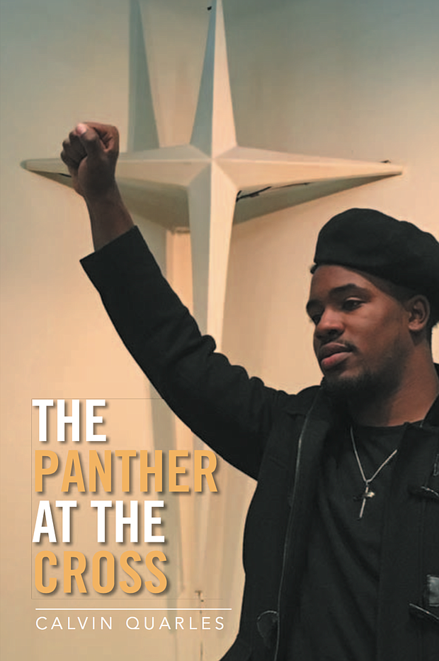 """Book cover of """"The Panther at the Cross"""" by Calvin Quarles"""
