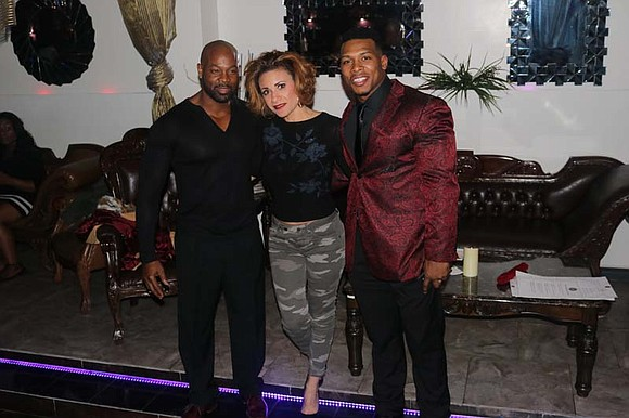 Everyone was rather hot and bothered (but in a good way) Wednesday night as Dolce Ultra Lounge and Bistro hosted ...