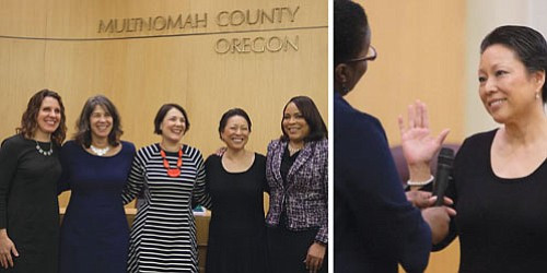 Multnomah County ushered in the New Year by welcoming three new commissioners to its board and setting a new bar ...
