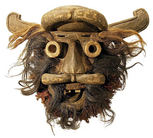 The exhibit is a fascinating dive into the stories of ancient African cultures and includes masks and figures.