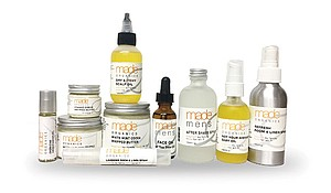 A range of Made Organics products.