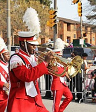 More than 70 groups will participate in the parade including high school and community bands, honor/color guards, equestrian units, fraternities and sororities, lively dance squads and civic organizations on Monday, January 16, 2016.