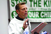 Father Michael Pfleger, senior pastor of the Faith Community of Saint Sabina in Chicago, brought rival gangs together in a basketball league.