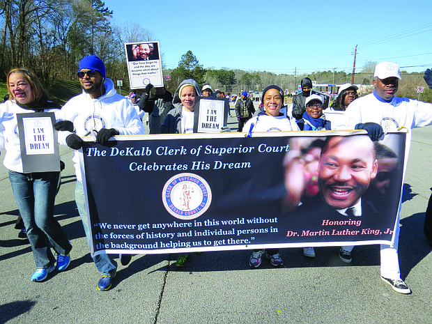 Metro Atlanta residents can view King Day parades in Lithonia, Conyers, McDonough and the city of Atlanta that honor the late civil rights leader.