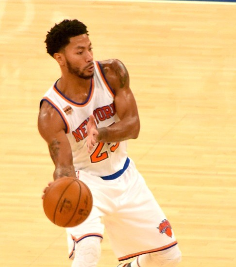 Anthony, Rose, Noah Lead Knicks Past Bulls, 104-89