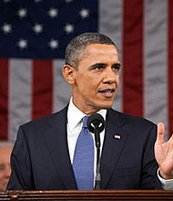 President Barack Obama delivered his farewell address as the leader of the free world in Chicago, Illinois on Tuesday, January 10, 2017. For nearly an hour, the nation's 44th Commander-In-Chief reminded everyone that history will not only show him to be the first— and perhaps only— black president, but time will reveal just how well a job he did after inheriting a nation at war, reeling in debt and cowering in fear every time Homeland Security raised the threat level. (Above) President Obama during the 2011 State of the Union Address.