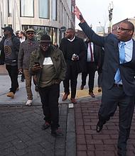 City Councilor Tito Jackson announced his candidacy for mayor.