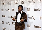 "Donald Glover gets Best Actor in a TV Comedy Series and Best Comedy Series awards for ""Atlanta."""