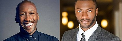 Mahershala Ali and Aldis Hodge