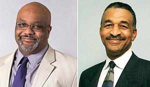 Dr. Boyce Watkins and James Clingman