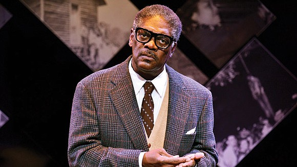 "Earlier this month, the New Repertory Theatre launched its ""Prophetic Portrait"" series of historical figures with ""Thurgood,"" a one-man show ..."