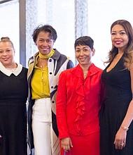 Michelle Taylor-Jones, Denise Kaigler, Gerri Mason Hall and Anna Foster