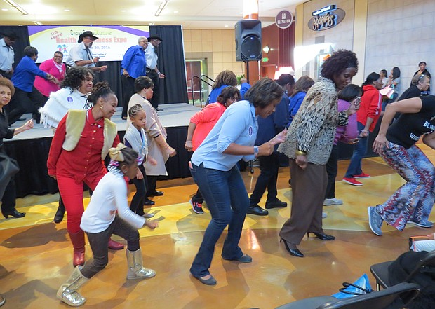 Participants can get moving on their 2017 health and fitness goals on Jan. 28 at the 12th annual expo that takes place noon to 5 p.m. on the lower level of the Mall at Stonecrest.