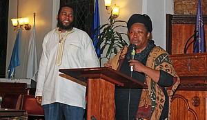 Dr. Umar Johnson and Yaa Assantewaa