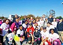 Forty-nine SECU employees and their family members and friends ran in the annual Susan G. Komen Race for the Cure and raised almost $4,000 in support of breast cancer research, education, screenings and treatment programs.
