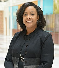 Baltimore County native Dr. Stacy Garrett-Ray serves as president of the University of Maryland Quality Care Network and vice president and medical director of the University of Maryland Medical System's Population Health Services Organization.