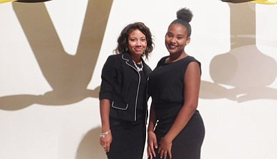 For Woodlawn High School students Morgan Tate and Tatyana Brown, their academic future looks promising thanks to a global, nonprofit ...