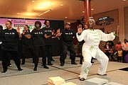 Lou Walker Senior Center's Tai Chi instructor Hertencer Shepherd and practitioners will showcase the ancient Chinese martial arts.