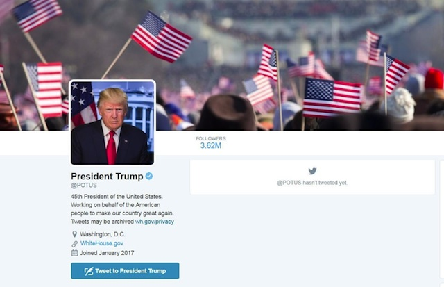 news potus twitter transfer obama trump will work