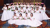 The Upsilon Omega Chapter of Alpha Kappa Alpha Sorority 2016 Debutantes: Front row from left, Donae Jyleah Jones, Erin Crawford Beale, Illiana Nicole Harris and Sydni Nicole Friend. Middle row, from left, Elle Marsha Anderson, Jaiden Amari Hobbs, Jessica Alise Martin, LinNeasha Shadavea Henderson and Nadia Marlei Greene. Back row, from left, Lauren Taylor Parker, Sydney Alexandra McCain, Camryn Christina Green, Kree Alanis Small, Kyra Janae Walden, Kailyn Elise Small, Maylahn Sione Parsons, Tayler Alexis DeDeaux, Shanna Christina Adkins, Tocaia Karel Scott and Nia Chardae Easter.