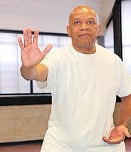 Master Heg Robinson teaches tai chi out of his Roxbury studio