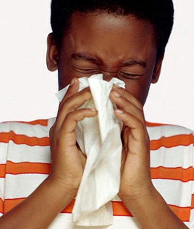 You woke up this morning feeling terrible! You have a runny nose, sore throat, and even started sneezing. Now, you ...