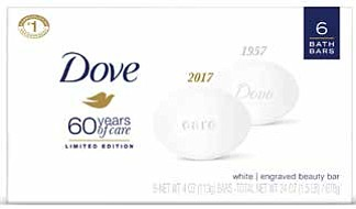 For limited time in January and February, the Dove Beauty Bar, with a superior and mild formula that has remained ...