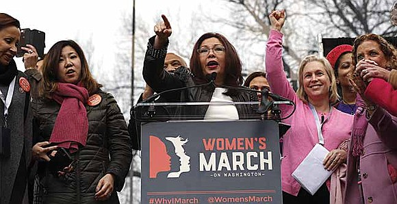 """Right now, there are real threats to women's rights and civil rights in our country. However, the core values of ..."