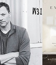 Author Matthew Desmond and his book 'Evicted: Poverty and Profit in the American City,' Multnomah County's 'Everybody Reads' book selection for 2017. The library started distributing thousands of copies on Jan. 4. Desmond will speak in Portland on March 9.
