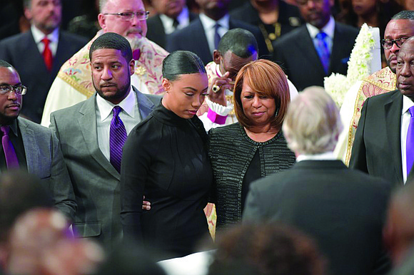 Friends, family, and New Birth Missionary Baptist Church staff and members remembered Bishop Eddie Lee Long as a man who ...