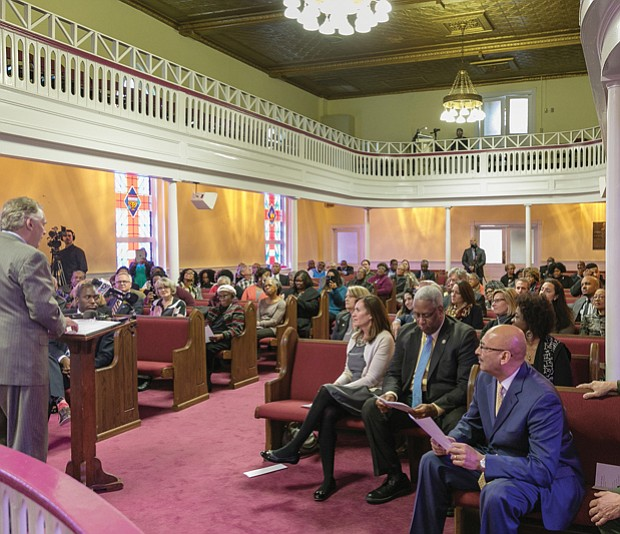 $400,000 for Jackson Ward church 