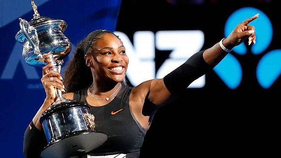 Serena now has a record 23 grand slam wins.