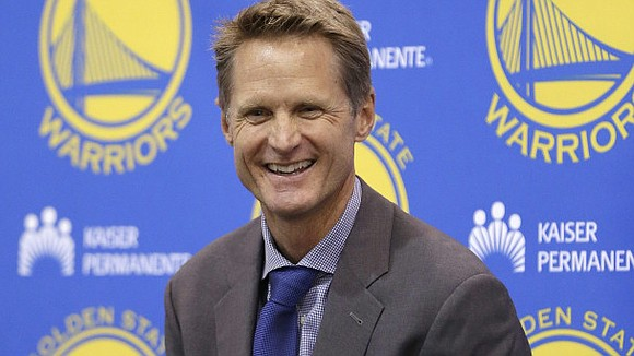 Golden State Warriors' coach Steve Kerr, whose father was killed by members of an Islamist extremist group, said that banning ...
