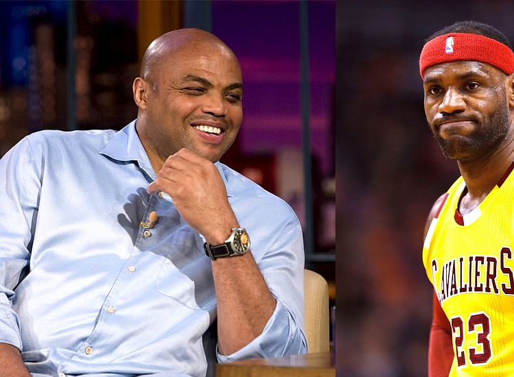 810161cc99d After years of being fodder for Charles Barkley to comment on in his role  as an. Charles Barkley and Lebron James