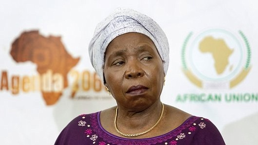 South African politician and chairperson of the AU commission Nkosazana Dlamini-Zuma addressed representatives of the continental union's 54 member states ...