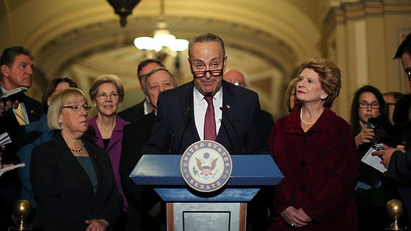Senate Democrats deployed a dramatic eleventh-hour maneuver to deny committee votes to two of President Donald Trump's Cabinet picks Tuesday, ...