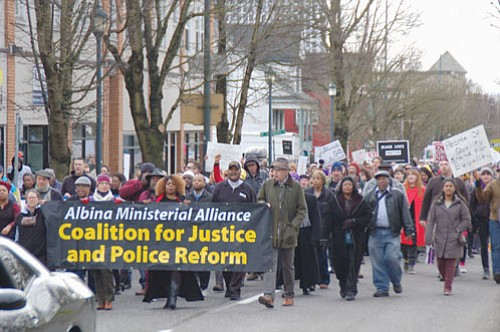 An energized civil rights community in Portland is showing it will not stand down as it pushes for police reforms ...