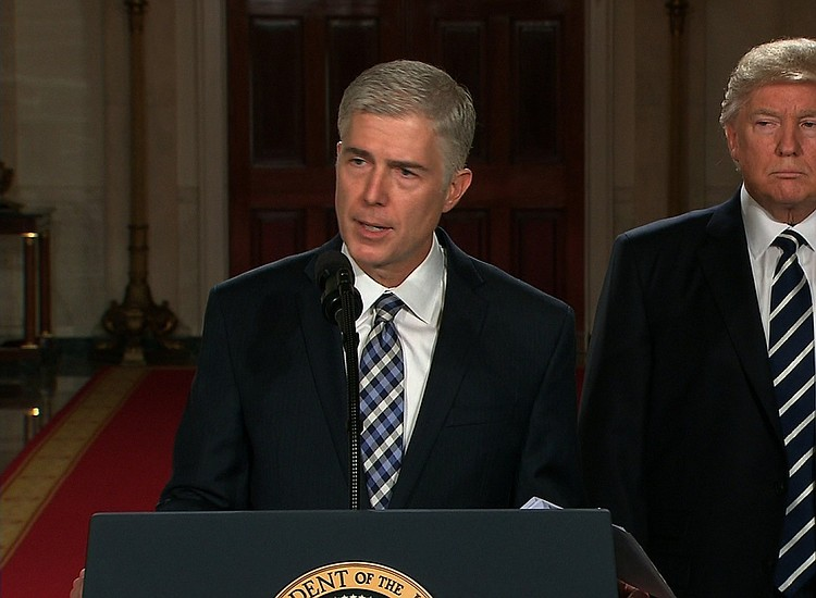 c41f3b67 Getting Gorsuch: How Trump picked his Supreme Court nominee | New ...
