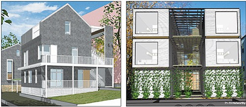 A jury of design experts, city officials and residents of Roxbury's Garrison Trotter sub-neighborhood is evaluating six development proposals submitted ...