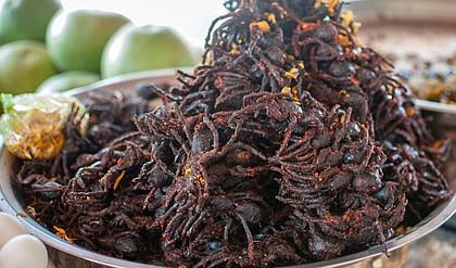Cambodia cuisine tarantula