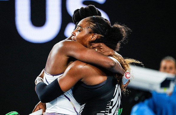Serena Williams has won her record 23rd Grand Slam singles title with a 6-4, 6-4 victory over her older sister ...