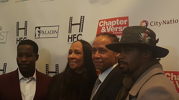 "Harlem turned up and let loose at the red carpet premiere of ""Chapter and Verse"" at Mist Harlem."