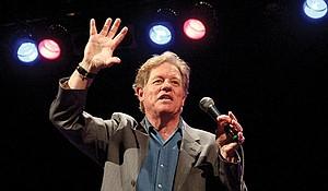 Comedian Jimmy Tingle