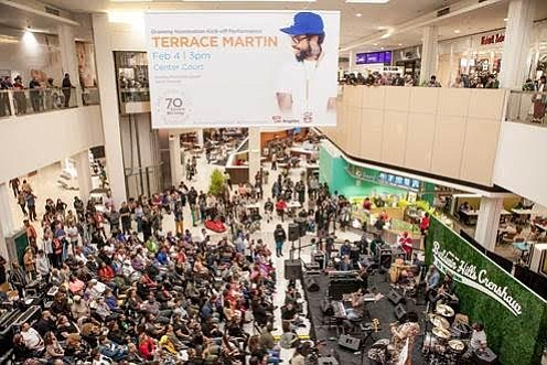 Congratulations Baldwin Hills Crenshaw Plaza on an Awesome 70th Anniversary Kick-off with Terrace Martin!!!