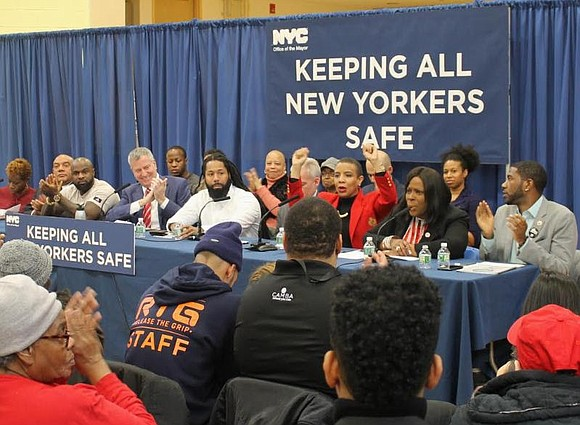 Council Member Laurie Cumbo joined Mayor Bill de Blasio and Council colleagues to celebrate the creation of the NYC Mayor's ...