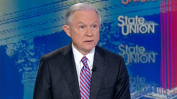 """Jeff Sessions is an honest man,"" said President Trump. ""He did not say anything wrong. He could have stated his ..."