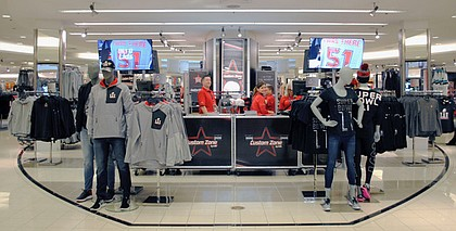 Macy's all-new Custom Zone by LIDS