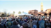 About 1,500 people gather in support of the Muslim community at last Sunday's unity event at the Islamic Center of Virginia in Bon Air in response to President Trump's executive order banning immigrants of seven Muslim-majority countries from entering the United States.